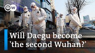 Coronavirus cases surge in South Korea | DW News