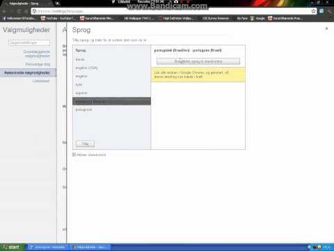 [How to] Change language on Google Chrome (2011) HD