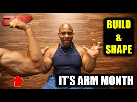 #1 Secret to Build and Shape Your Arms FASTER!!! (Biceps and Triceps)