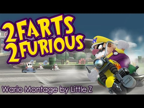 2 Farts 2 Furious - SSB4 Wario Montage by Little Z