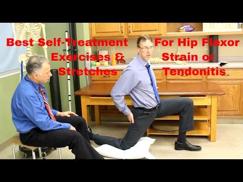 Hip Flexor Strain-Tendonitis? Best Stretches, Exercises, & Self-Treatment.