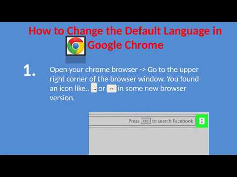 Google Chrome Default #Language Change | Language Change Setting of #Chrome Browser