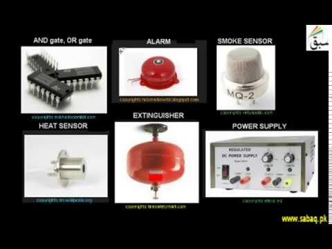 41 Making of a fire alarm using gates | Physics Practical | 11th +12th