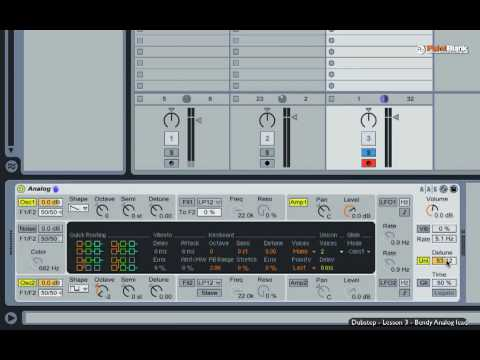 How to Make Dubstep part 3/5 - Wonky Analogue Lead in Ableton