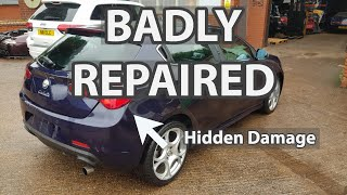 Another Badly Repaired Car Off The Road