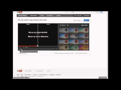 Trim videos easily and quickly  with the YouTube video editor