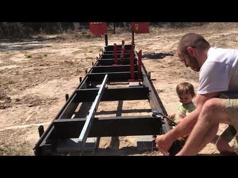 Leveling the Sawmill - Timber King 1220