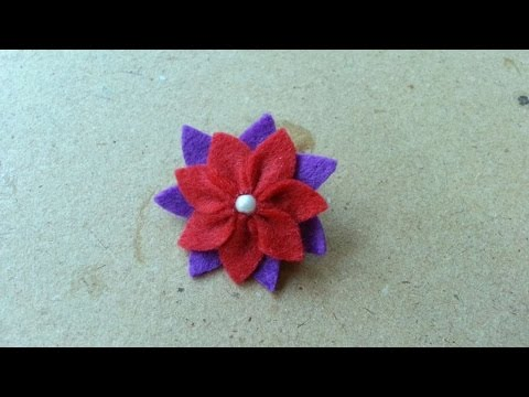 How To Make A Pretty Flower Brooch - DIY Style Tutorial - Guidecentral