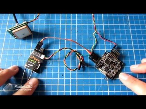 9/12) FrSky TARANIS/Naze32 Telemetry - Simple setup using a