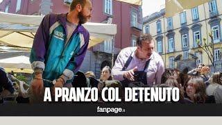 Un detenuto a pranzo le reazioni della gente Esperimento sociale