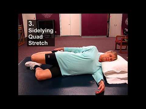 Fall Prevention Exercises (Flexibility Series) - Quad Stretches
