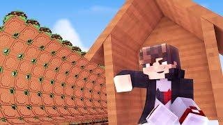 Minecraft: DESAFIO DA BASE 100% SEGURA CONTRA TSUNAMI DE HAMBURGER  ‹ JUAUM ›
