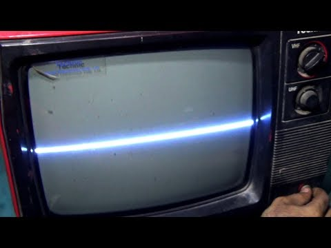 How To Repair Horizontal Line Of A Black And White Television (Part 5) - Bengali Tutorial