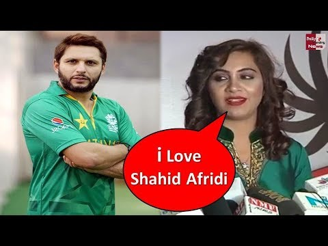 Arshi khan Openly Accept Having Relationship with Shahid Afridi !!