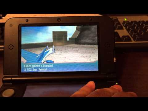 How to catch Deoxys in Pokemon Omega Ruby ORAS. (Accident Method)