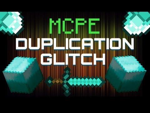 Minecraft PE 0.8.1 duplication glitch ios