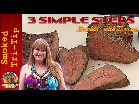 3 Steps How to Smoke Tri Tip Beef Roast | Masterbuilt Smoker