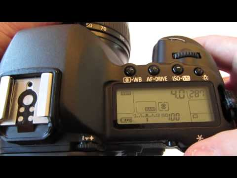 Canon 5D MkII - Using Aperture, Shutter Speed, and Manual Modes