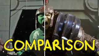 Thor: Ragnarok - Homemade Side by Side Comparison