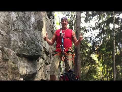 What to do when your climbing partner breaks his back