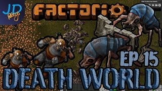 FACTORIO DEATHWORLD with JD-PLAYS | Prepare for Combat