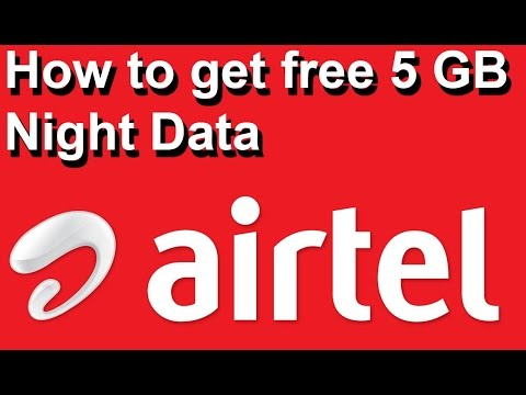 how to get free 5 gb airtel 4g data in hindi