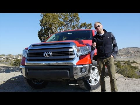 2014 Toyota Tundra CrewCab 4.6 V8: Why buy THIS truck??  Test drive and Review