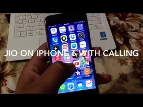 Reliance jio on iPhone 6 with calling