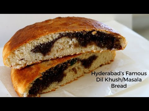 Hyderabad Famous Dil Khush - Dil Pasand - Masala Bread Recipe - Quick and Easy Dil Khush Recipe