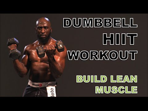 Dumbbell Workout for Muscle Growth