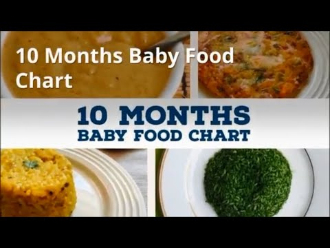 10 Months Baby Food Chart | Indian Homemade  Baby Food Recipes