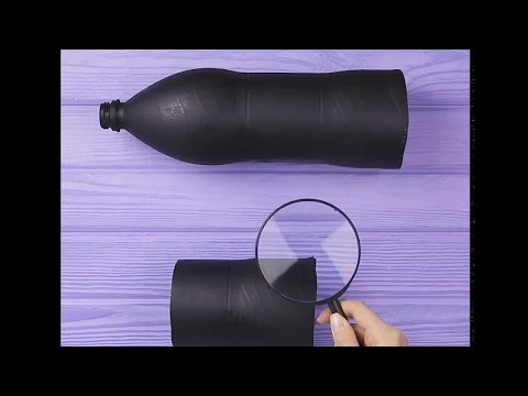 How to make a Telescope at home DIY idea | 5-MINUTE CRAFTS