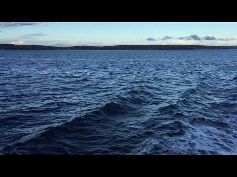 Ferry to Fetlar from Belmont, Unst, Shetland