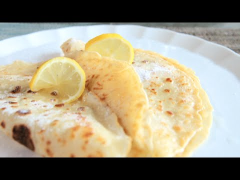 How to Make Thin Pancakes (Crepes)