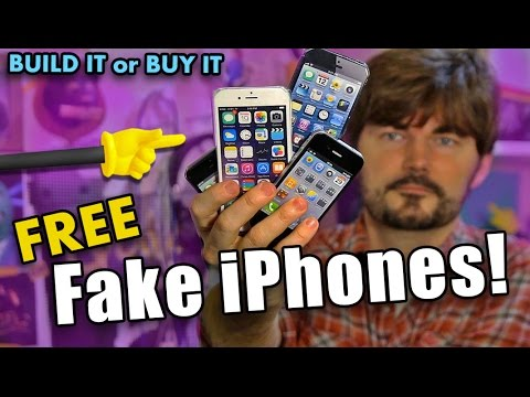 FAKE iPhones!  -  Build it or Buy it!?