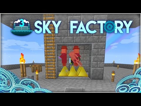 Sky Factory 3 w/ Hypno :: Ep 11 :: Better Mob Farming!