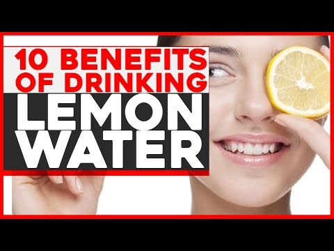 What does Lemon juice do to your body 10 Benefits of drinking lemon water