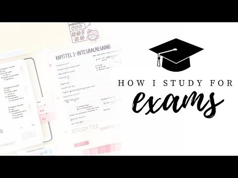 How I study for exams - Part 1 | Study schedule & revision methods | studytee