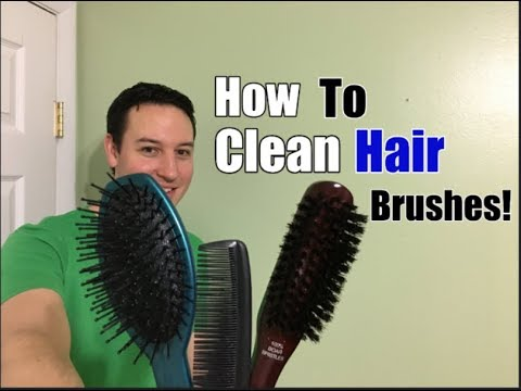 How To Clean Hair Brushes in 3 Easy Steps!