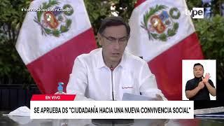 22/05/20 Presidente Vizcarra informa sobre la situación del Estado de Emergencia