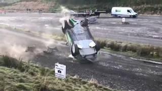 WRC Wales Rally GB 2017 - Yazeed Al-Rajhi Crash Sweet Lamb
