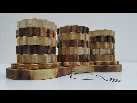 How to Make a Pencil Holder using Wooden Gears