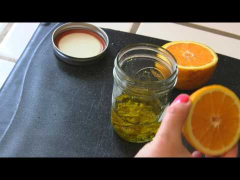 Dressing for Salad:  Easy Orange Mustard Salad Dressing