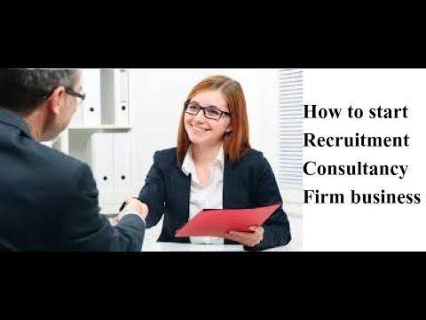 How to start Recruitment Consultancy Firm business | भर्ती कंसल्टेंसी फर्म व्यवसाय कैसे शुरू करें I|
