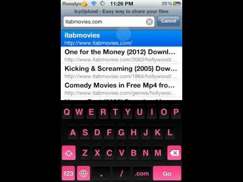 HOW TO DOWNLOAD FREE MOVIES ON IPOD/IPAD/IPHONE!!!!