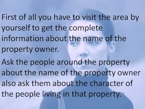 Reasons you should do property title search