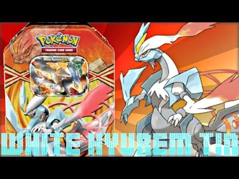 Pokemon Cards - White Kyurem EX Black & White Tin Opening! [Spring 2013]