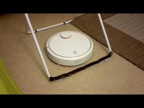 260217 - Xiaomi MI Robot Vacuum Cleaner - virtual wall to drying rack
