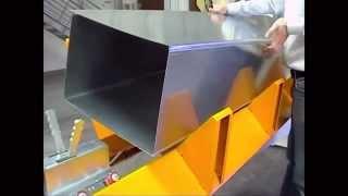 Sản xuất ống gió bằng máy bán tự động - onggiongocdung.com