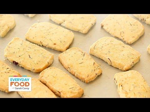 Almond-Orange Shortbread - Everyday Food with Sarah Carey